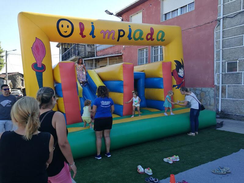 hinchables fiestas infantiles